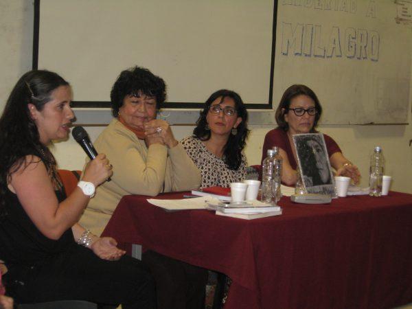 Mesa Panel por la Libertad de Milagro Sala