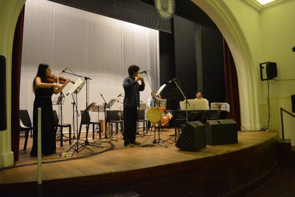 """El espectáculo musical """"Les Changueries"""" pasó por Filo y Letras"""