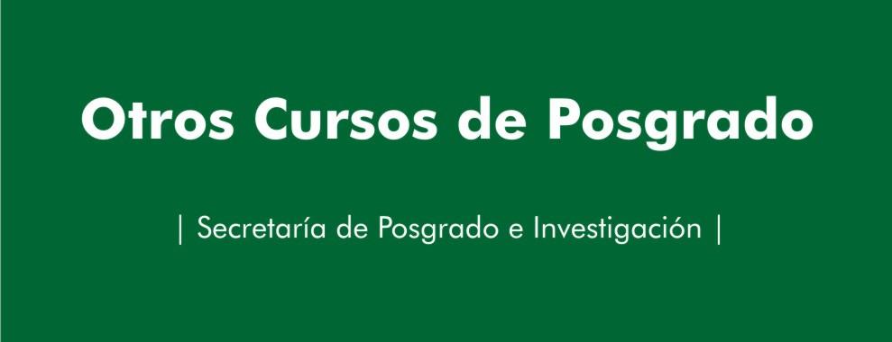 OTROS CURSOS DE POSGRADO 2016