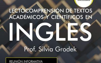 Posgrado Lecto-comprensión de textos en Inglés