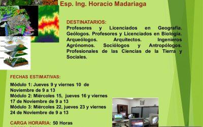 """Posgrado """"SIG y la gestión del territorio"""""""