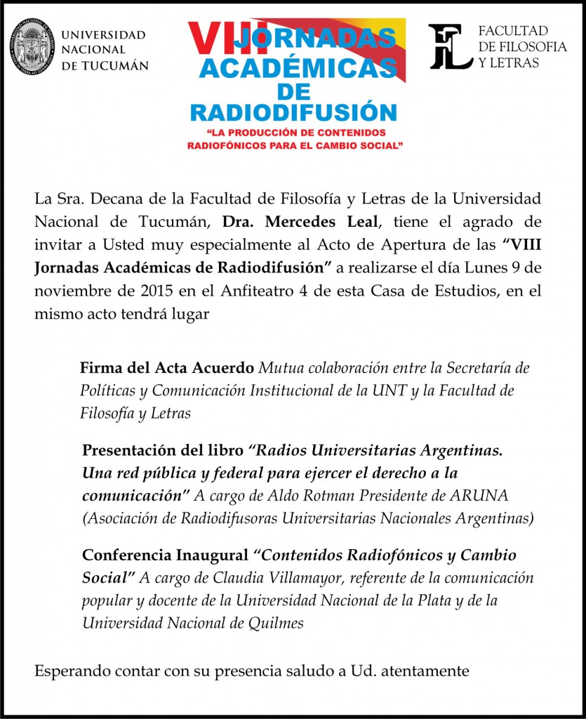 invitacion acto radiodifusion
