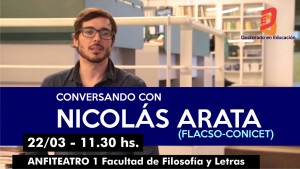 CHARLA NICOLAS ARATA