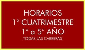 BANNER HORARIOS 1 CUATRIMESTRE 1 A 5 ANIO