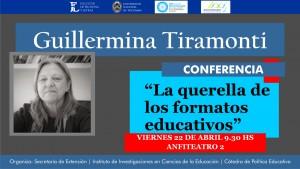 CONFERENCIA GUILLERMINA TIRAMONTI