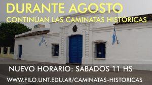 CAMINATAS HISTÓRICAS