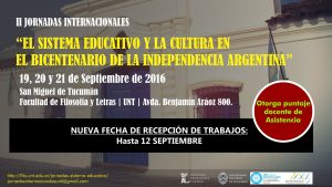 II Jornadas Internacionales Sistema Educativo y la Cultura
