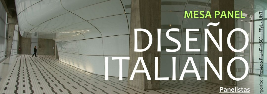 Mesa Panel DISEÑO ITALIANO