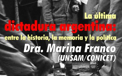 """Posgrado """"La última dictadura argentina"""""""