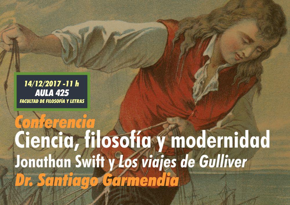 Conferencia Ciencia, filosofía y modernidad. Jonathan Swift y Los viajes de Gulliver