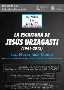 Defensa de Tesis María José Daona