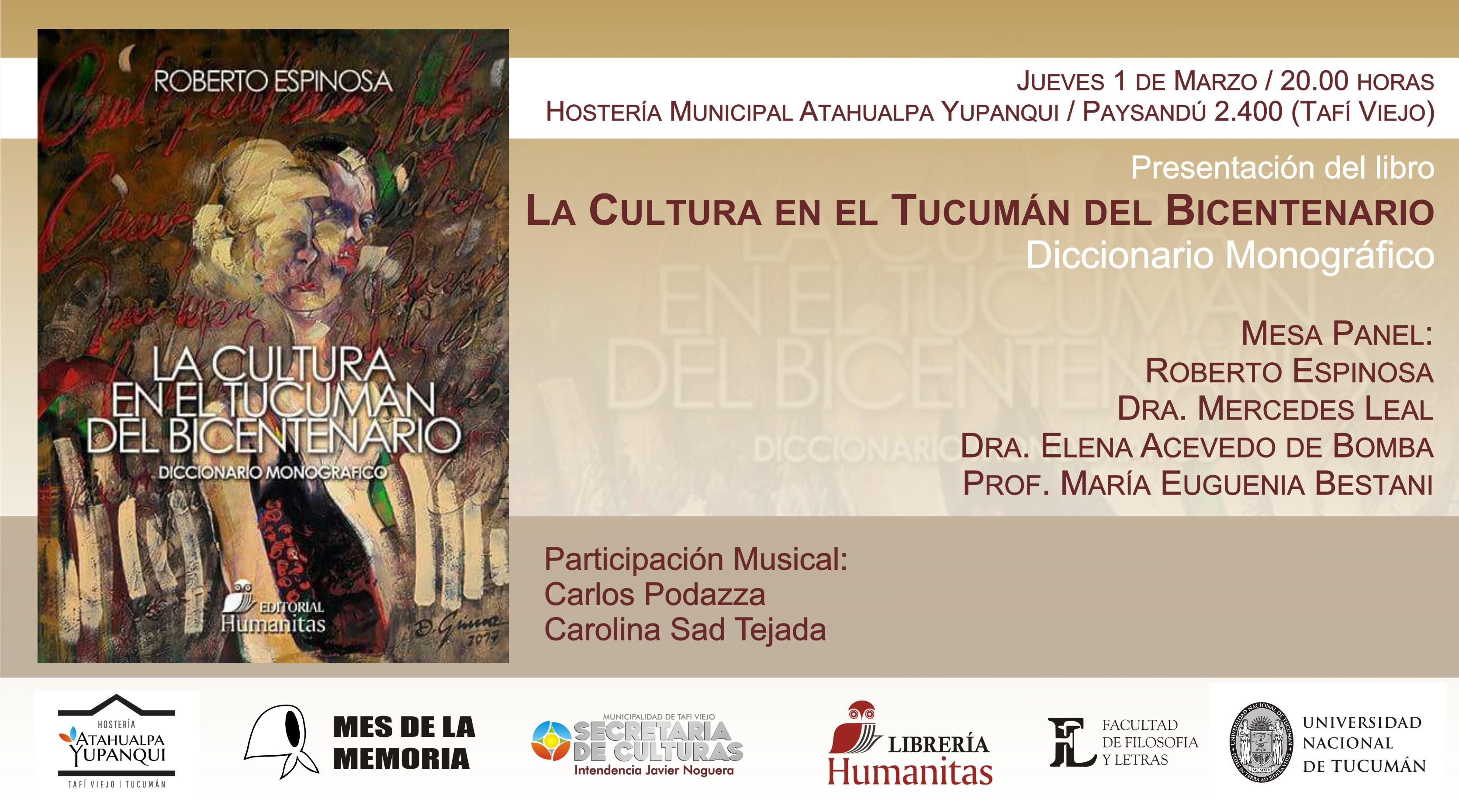 Presentación libro Roberto Espinosa en Tafí Viejo