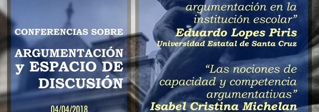 Conferencias sobre argumentación organizadas por el Doctorado en Letras