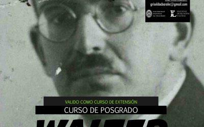 """Posgrado """"Walter Benjamin y el mundo contemporáneo"""""""