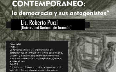 """Posgrado """"Historia del pensamiento político contemporáneo"""""""