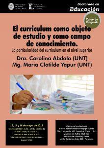 """Cartel Posgrado Ciencia, Política y Educación"""""""