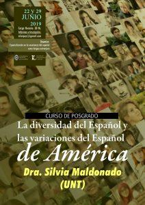 """Posgrado """"La diversidad del Español y las variaciones del Español de América"""""""