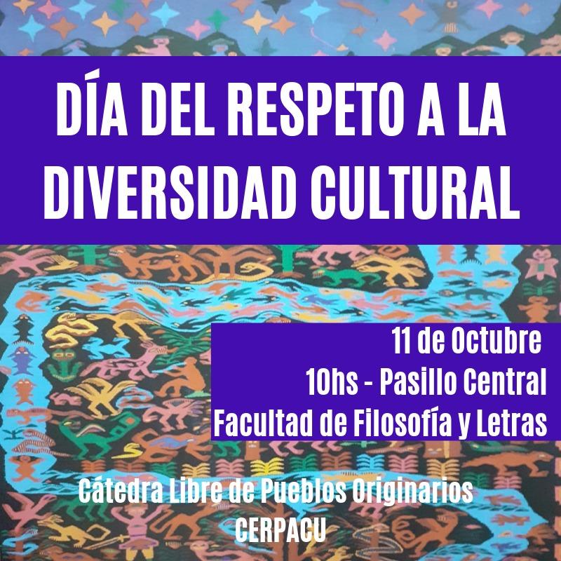 Actividad Día del respeto a la diversidad cultural